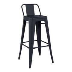 HPD 75 Outdoor Stool in Midnight Blue by Tolix, US