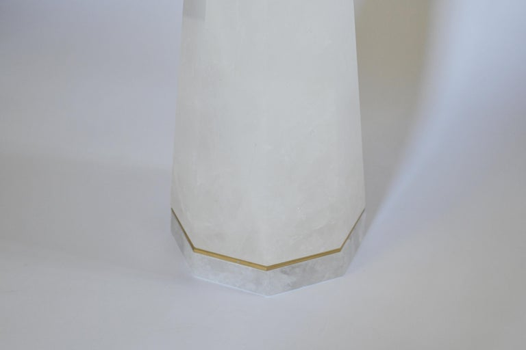 HPW Rock Crystal Lamps by Phoenix In Excellent Condition For Sale In New York, NY
