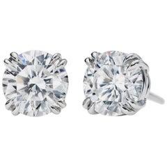 INTERNALLY FLAWLESS GIA 2.38 Carats Diamond Studs