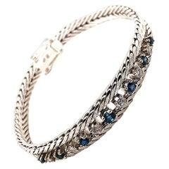 H.STERN Company 18 Karat White Gold Mesh Bracelet