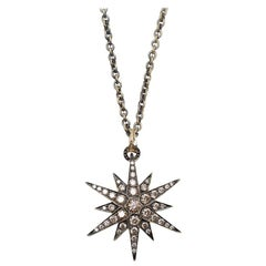 H.Stern Stars Cognac Diamond Noble Gold Necklace