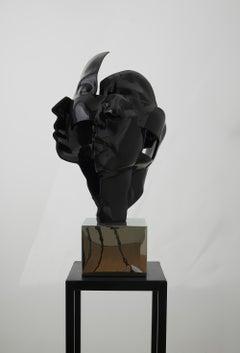 """Black Granite &Iron """"Faces No3"""", 2020"""