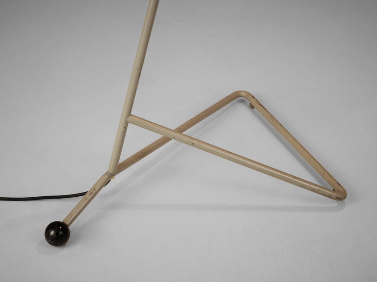 H.Th.A.Busquet for Hala Zeist Floor Lamp in Metal For Sale 1