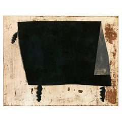 "Huai-Qing Wang ""Moon Light on the Table"" Etching, 2008"