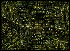 Urban Codes - 21st Century Color Landscape Photography Collage Edition Green