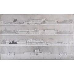 Hubert H Clark, Architectural Design for Slough Hospital (c.1940)