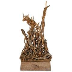 Hubert Long Constructivist Twig Sculpture