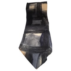Hubert multicoloured silk tie