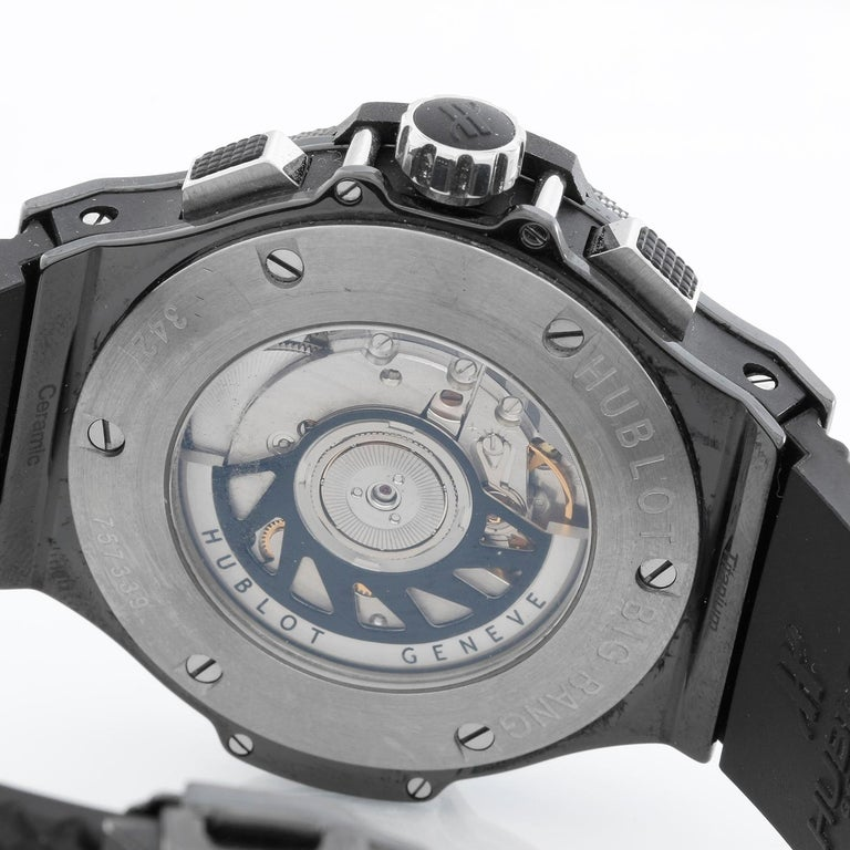Hublot Big Bang Black Magic Automatic Men's Chronograph Watch 342.CX.130.RX For Sale 1