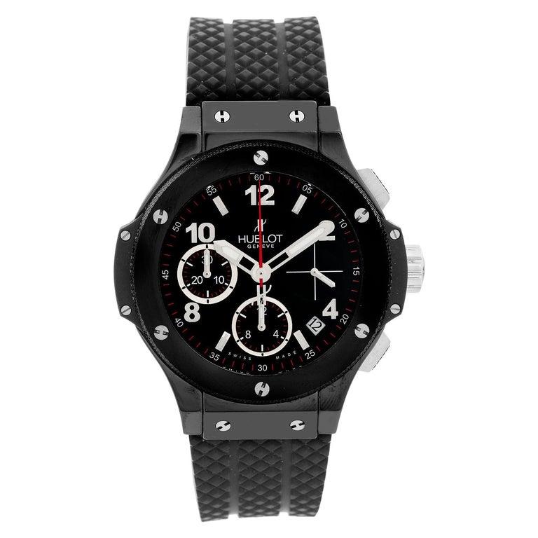 Hublot Big Bang Black Magic Automatic Men's Chronograph Watch 342.CX.130.RX For Sale