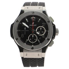Hublot Big Bang Chronograph Automatic Watch Stainless Steel and Rubber 44