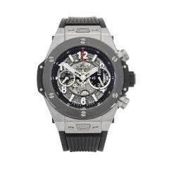 Hublot Big Bang Chronograph Titanium and Ceramic 411.NM.1170.RX