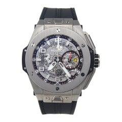 Hublot Big Bang Ferrari Skeleton Titanium Automatic Men's Watch 401.NX.0123.GR C