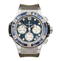 Hublot Big Bang Jeans Limited Edition Stainless Steel 341.SX.2710.NR Wristwatch