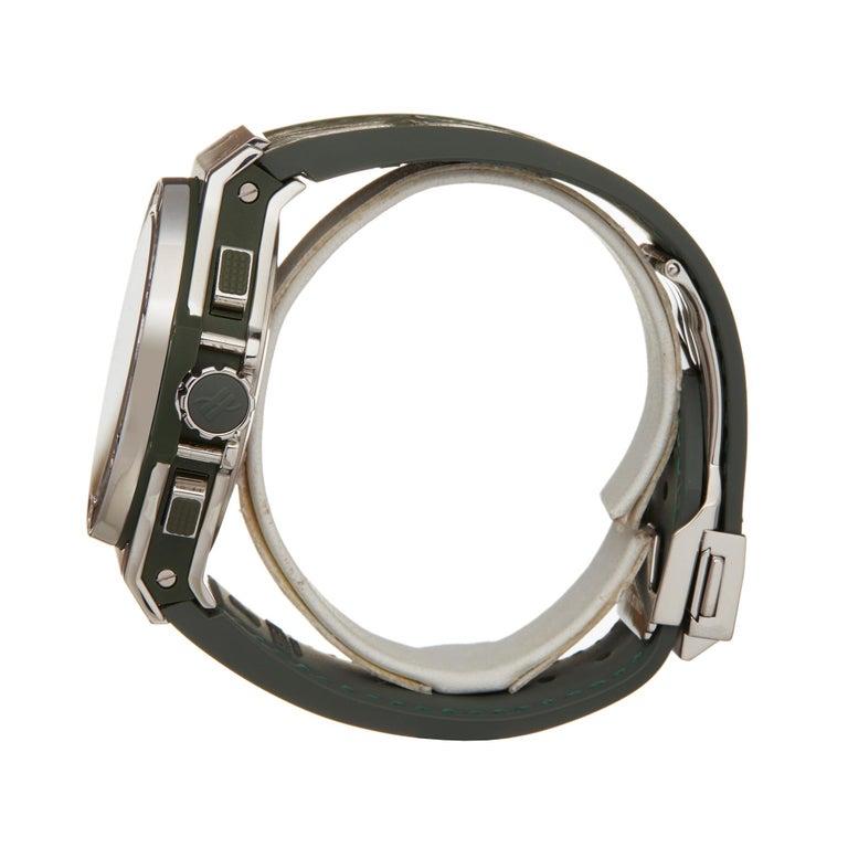 Hublot Big Bang Tutti Frutti Stainless Steel 341.SV.5290.LR.1917 Wristwatch In Excellent Condition For Sale In Bishops Stortford, Hertfordshire