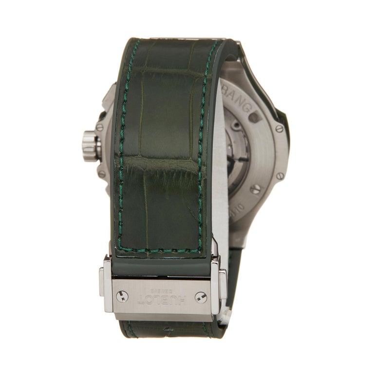 Hublot Big Bang Tutti Frutti Stainless Steel 341.SV.5290.LR.1917 Wristwatch For Sale 1