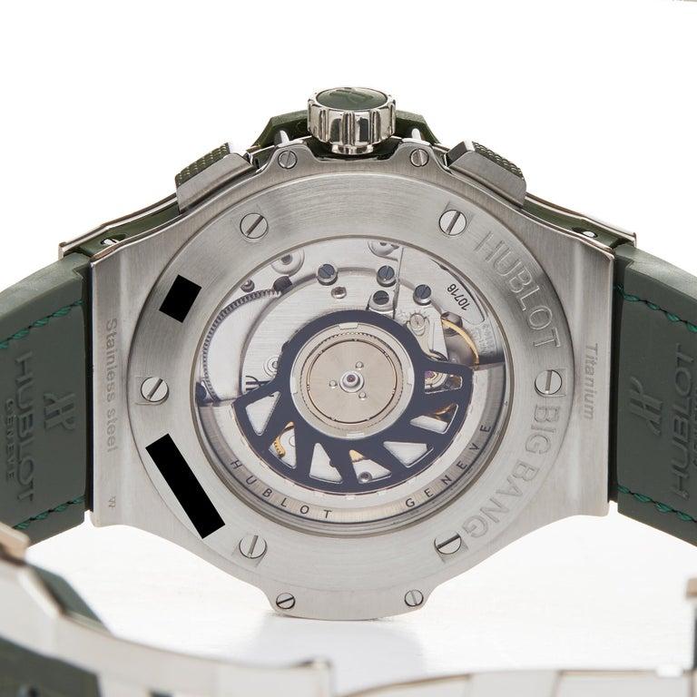 Hublot Big Bang Tutti Frutti Stainless Steel 341.SV.5290.LR.1917 Wristwatch For Sale 2