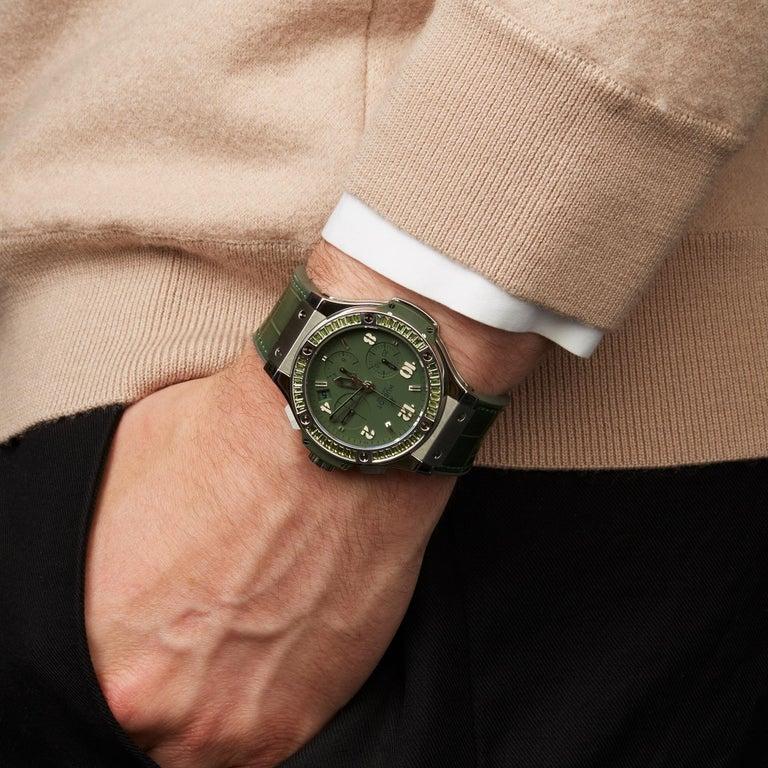 Hublot Big Bang Tutti Frutti Stainless Steel 341.SV.5290.LR.1917 Wristwatch For Sale 4
