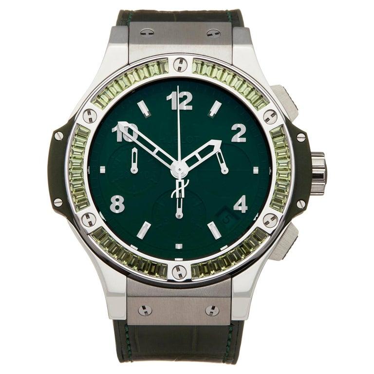 Hublot Big Bang Tutti Frutti Stainless Steel 341.SV.5290.LR.1917 Wristwatch For Sale