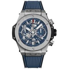 Hublot Big Bang Unico Titanium Blue Men's Watch 441.NX.5179.RX