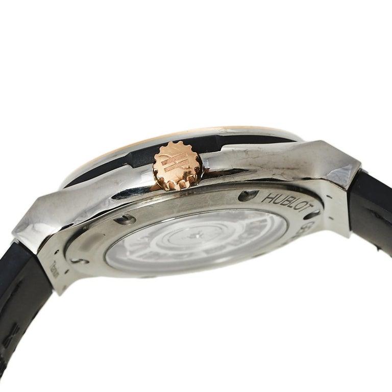 Hublot Black 18K Rose Gold And Titanium Classic Fusion Unisex Wristwatch 38.5 mm 2