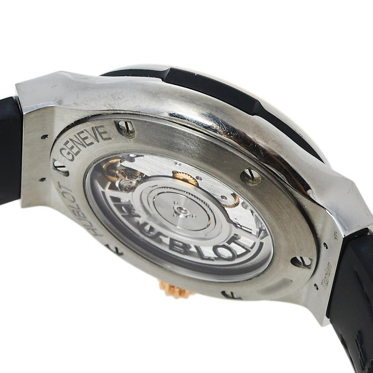 Hublot Black 18K Rose Gold And Titanium Classic Fusion Unisex Wristwatch 38.5 mm 3