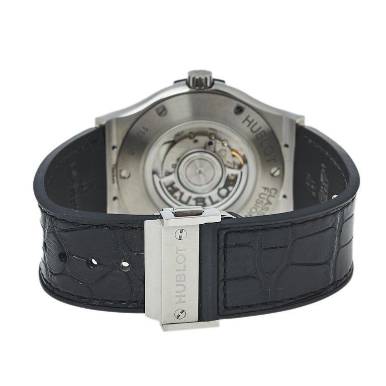 Hublot Black Titanium Classic Fusion 511.NX.1170.LR Men's Wristwatch 45 mm 1