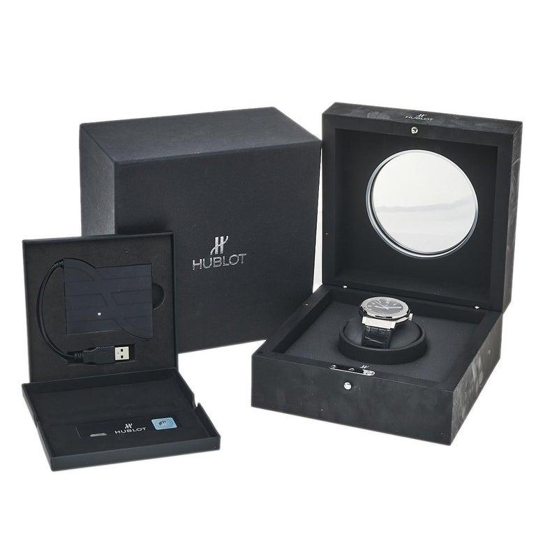 Hublot Black Titanium Classic Fusion 511.NX.1170.LR Men's Wristwatch 45 mm 4
