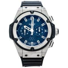 Hublot Black Zirconium Titanium Limited Edition 715.ZX.11 Men's Wristwatch 48 mm