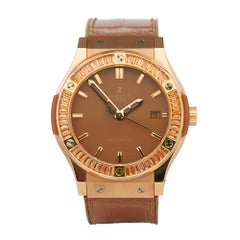 Hublot Classic Fusion 18K Rose Gold 511.PA.5380.LR.1918 Wristwatch