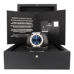 Hublot Classic Fusion 516.NX.7170.LR, Blue Dial, Certified and Warranty