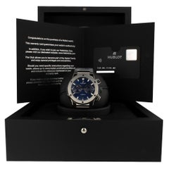 Hublot Classic Fusion 520.NX.7170.NX, Blue Dial, Certified and Warranty