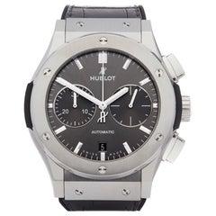 Hublot Classic Fusion 521.NX.7071.LR Men Titanium Chronograph Watch