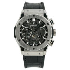 Hublot Classic Fusion 525.NX.0170.LR, Black Dial, Certified and