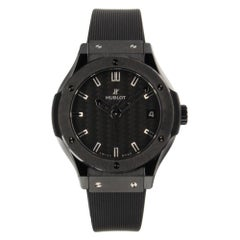 Hublot Classic Fusion 581.CM.1770.RX, Black Dial, Certified and Warranty