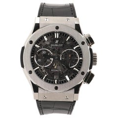 Hublot Classic Fusion Aerofusion Chronograph Skeleton Automatic Watch Titanium