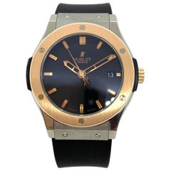 Hublot Classic Fusion Automatic Wristwatch, Titanium and 18 Karat Gold