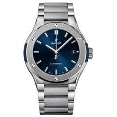 Hublot Classic Fusion Blue Titanium Men's Watch 510.NX.7170.NX