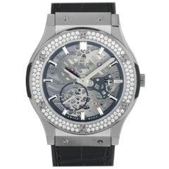 Hublot Classic Fusion Classico Ultra-Thin Titanium Diamonds Watch 515.NX.