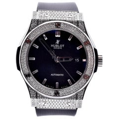 Hublot Classic Fusion Diamond Wristwatch