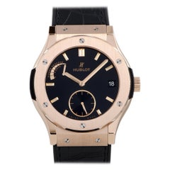 Hublot Classic Fusion Power Reserve 8 Days King Gold Watch 516.OX.1480.LR