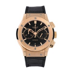Hublot Classic Fusion Rose Gold Chronograph Watch 521.OX.1181.LR