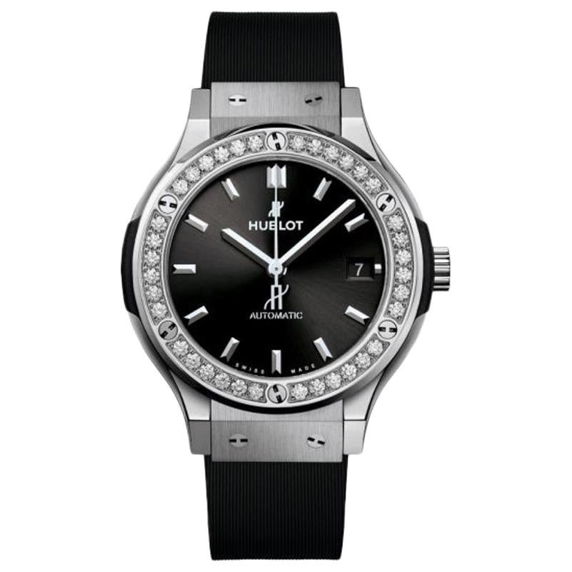 Hublot Classic Fusion Titanium Diamond Watch 565.NX.1470.RX.1204