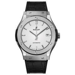 Hublot Classic Fusion Titanium Opalin Men's Watch 511.NX.2611.LR
