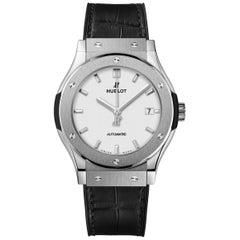 Hublot Classic Fusion Titanium Opalin Men's Watch 542.NX.2611.LR