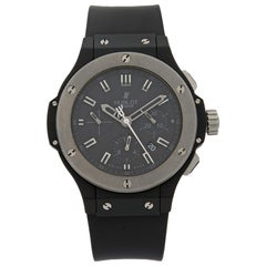 Hublot Ice Bang Ceramic Tungsten Bezel Black Dial Automatic Watch 301.CK.1140.RX