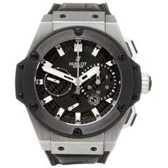 Hublot King Power Zirconium Split Second Chronograph 709ZM1780RX Wristwatch
