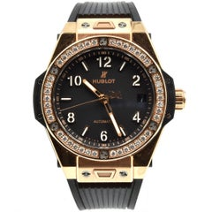 Hublot Ladies Rose Gold Big Bang One Click Automatic Wristwatch