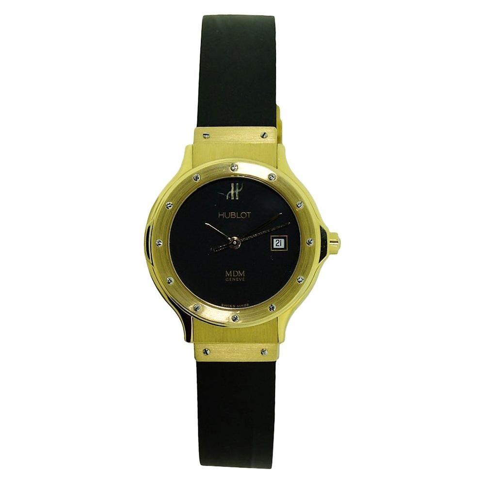 Hublot Ladies Yellow Gold Quartz Watch