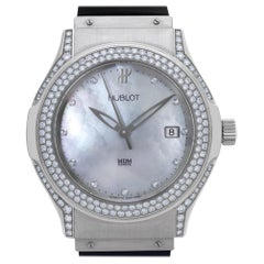 Hublot MDM 1910.1.034, White Dial, Certified and Warranty